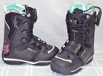 Salomon Ivy New Women's Snowboard Boots Size 6.5 #564543 | eBay