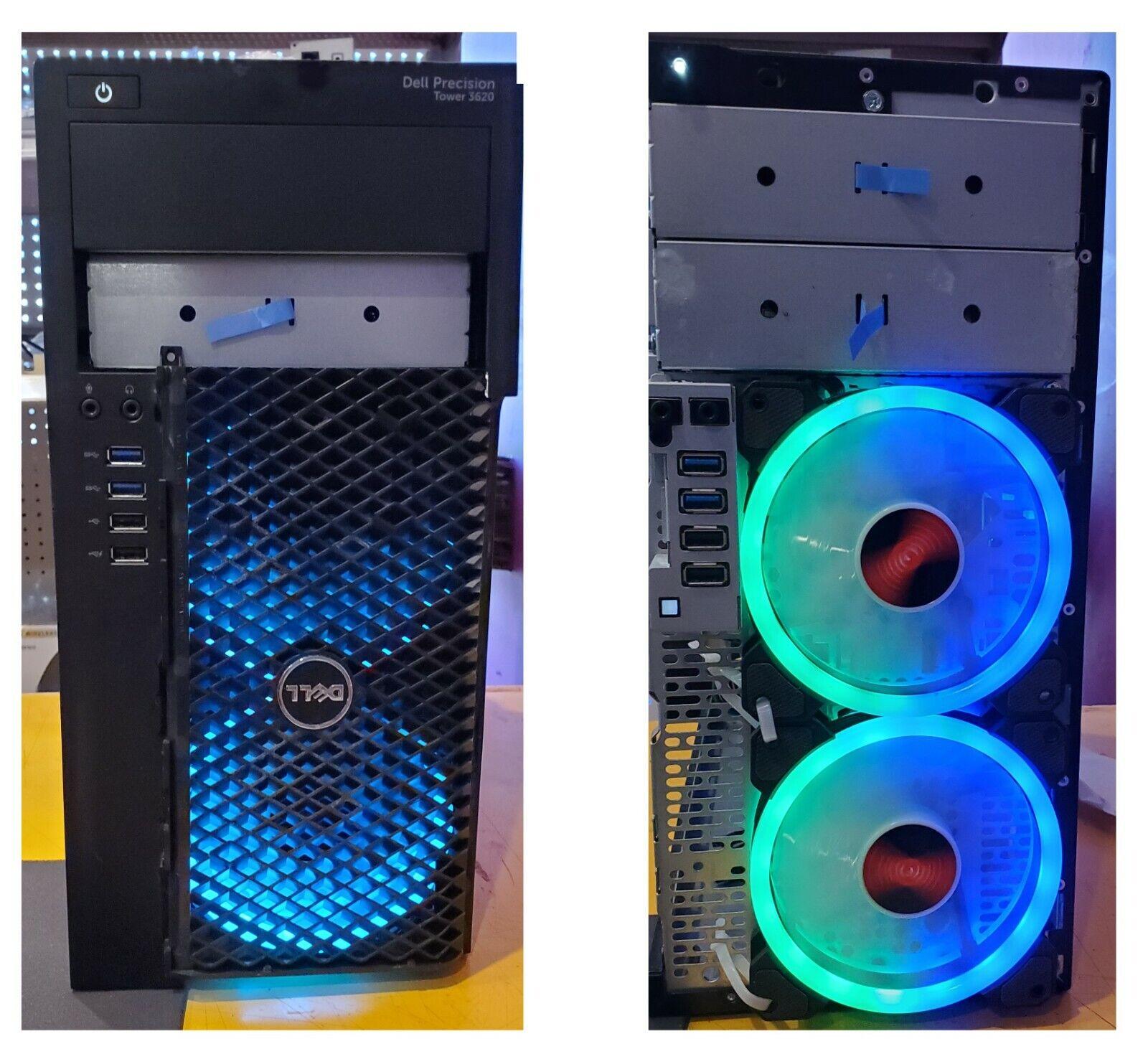 Gaming PC Dell Precision 3620 intel i5-7600 3.50GHz 16GB  256 SSD WIN 10 *READ*