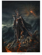 The Lord of the Rings-Sauron paper giclee by Jerry VanderStelt
