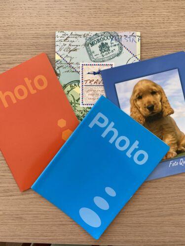 ALBUM PORTAFOTO per 40 FOTO  13x18 cm confezione da 5 Pezzi foto a tasche