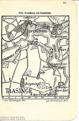 Danmark Svendborg Tåsinge 1910 Orig. W-karte + Wanderf. Christiansminde Nakskov Um Das KöRpergewicht Zu Reduzieren Und Das Leben Zu VerläNgern