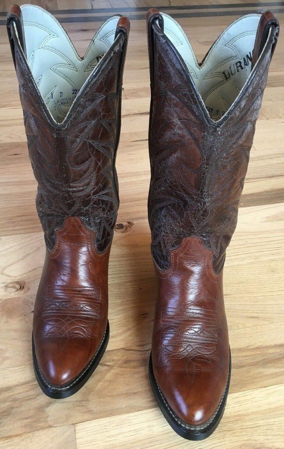 Durango Men's Western Cowboy Boots Brown TR674 Size 7 D