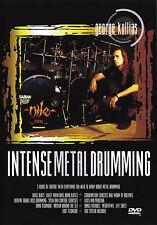 GEORGE KOLLIAS INTENSE METAL DRUMMING DRUM LESSON DVD NEW
