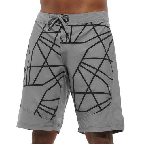 Mens Reebok Les Mills Uni Board Shorts Training Workout Crossfit Reflective