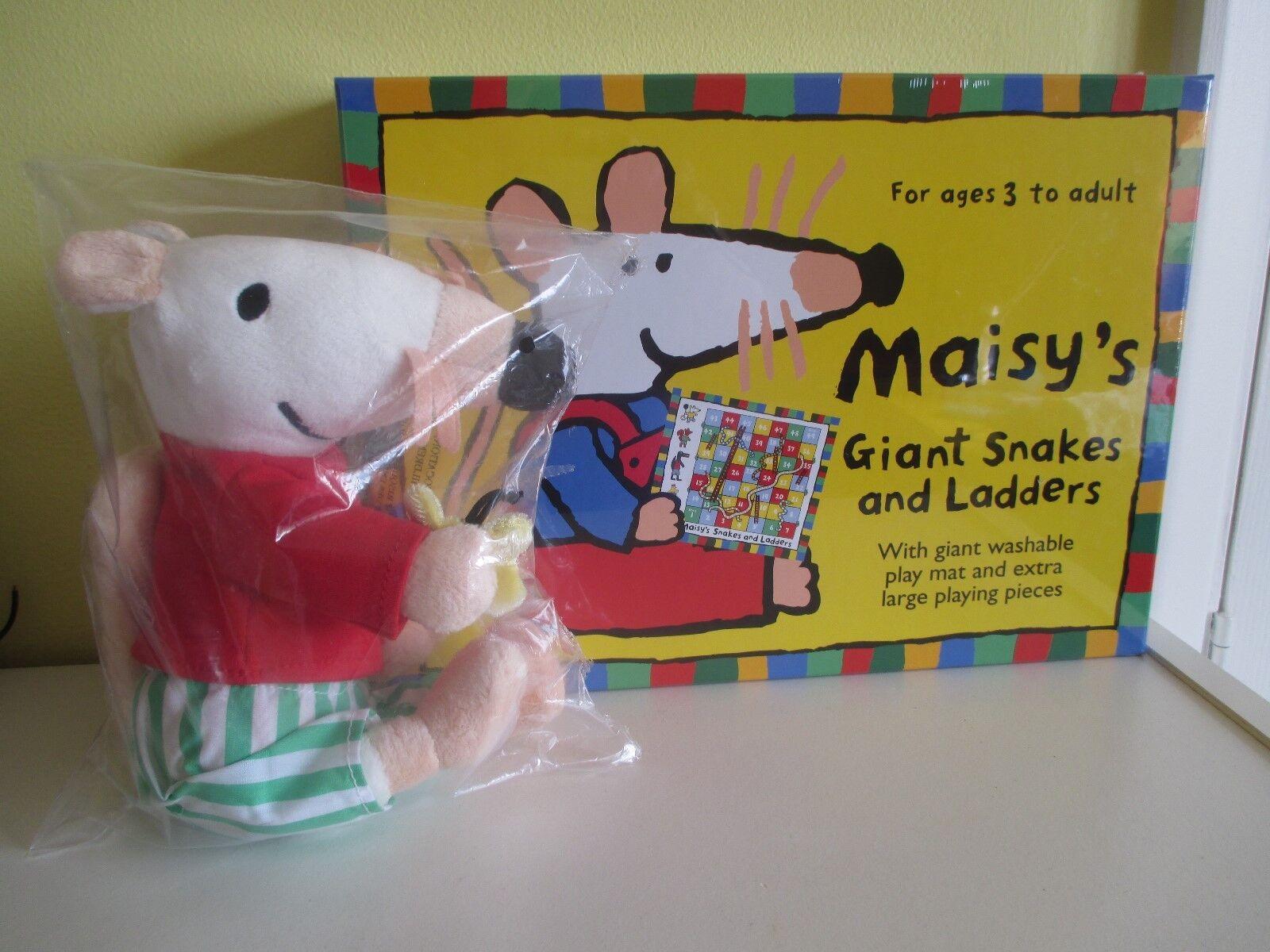 Maisy's Giant Snakes and Ladders spel Maisy Mouse mjuk leksak NY