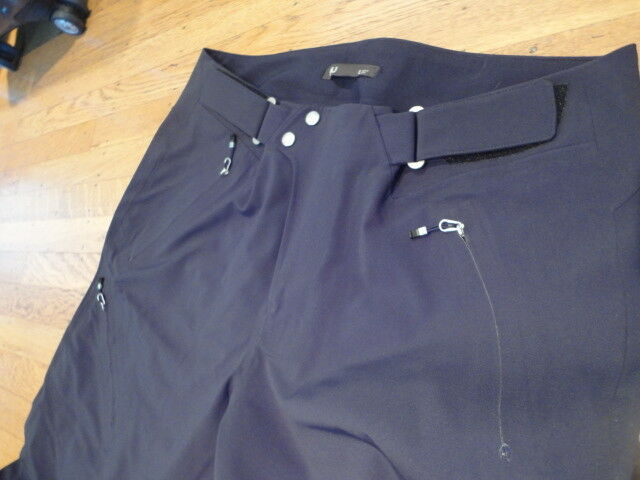 NWOT Nau Uomo Pants. Waterproof Boarding/Ski Pants. Uomo Charcoal. Size: Large c515cc