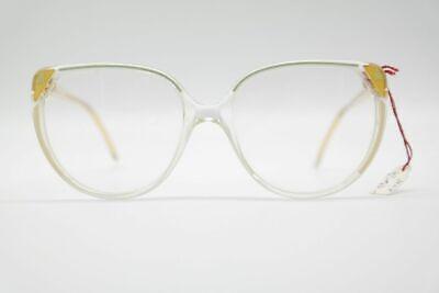Amabile Vintage Di Fürstenberg F 108 54 [] 18 140 Trasparente Oro Ovale Occhiali Nos-mostra Il Titolo Originale Limpid In Sight