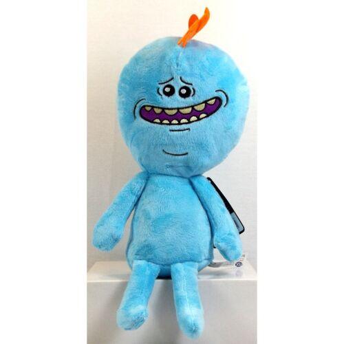 "Rick and Morty meeseeks Plush Soft Toy Vendeur Britannique Neuf 13/""//33 cm M"