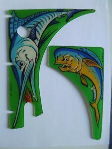 'FISH TALES' Playfield Plastics Williams 1992 (Used)