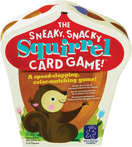 Snacky Squirrel Card Game Educational Insights The Sneaky