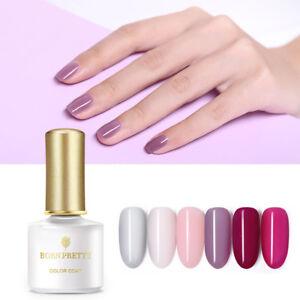 BORN-PRETTY-6ml-Nagel-Gellack-Gelee-Halbtransparent-Soak-Off-Nail-UV-Gel-Polish