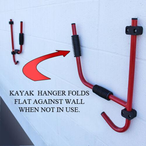 Hook Kayak Hanger Metal Wall Hanger for Kayaks Bike Hanger Kayak Wall Hanger