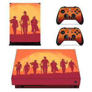 Red Dead Redemption 2 para X Consola Pegatina de vinilo...