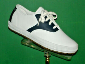Navy Blue and White Saddle Shoes  sizes NOS