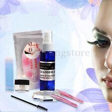 Pro False Eyelashes Extension Cosmetic Set Kit Eyelash Glue Brush Makeup Tools