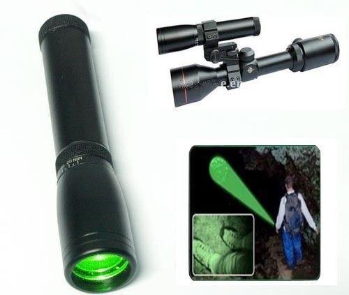 ND30 532nm Long distance laser designator flashlight with adjustable scope mount