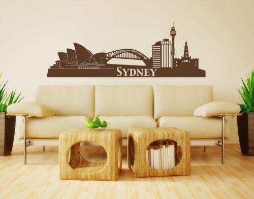 Highest Quality Wall Decal Stickers Sydney City Skyline