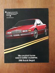1999 Buick Regal  Sales Brochure Book