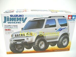Tamiya-1-32-SUZUKI-JIMNY-WIDE-Mini-4WD-w-Motor-Motorized-Plastic-Kit-19022