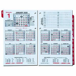 Day Count Calendar 2020 2020 E712 50 Burkhart's Day Counter Financial Calendar by At A
