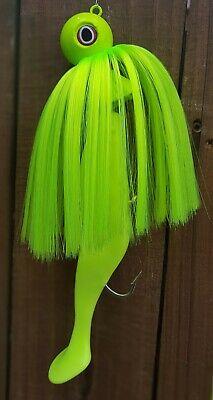 "mojo /""SPIRE POINT/"" lure rig jig striper rockfish Parachutte trolling STRAIGHT"