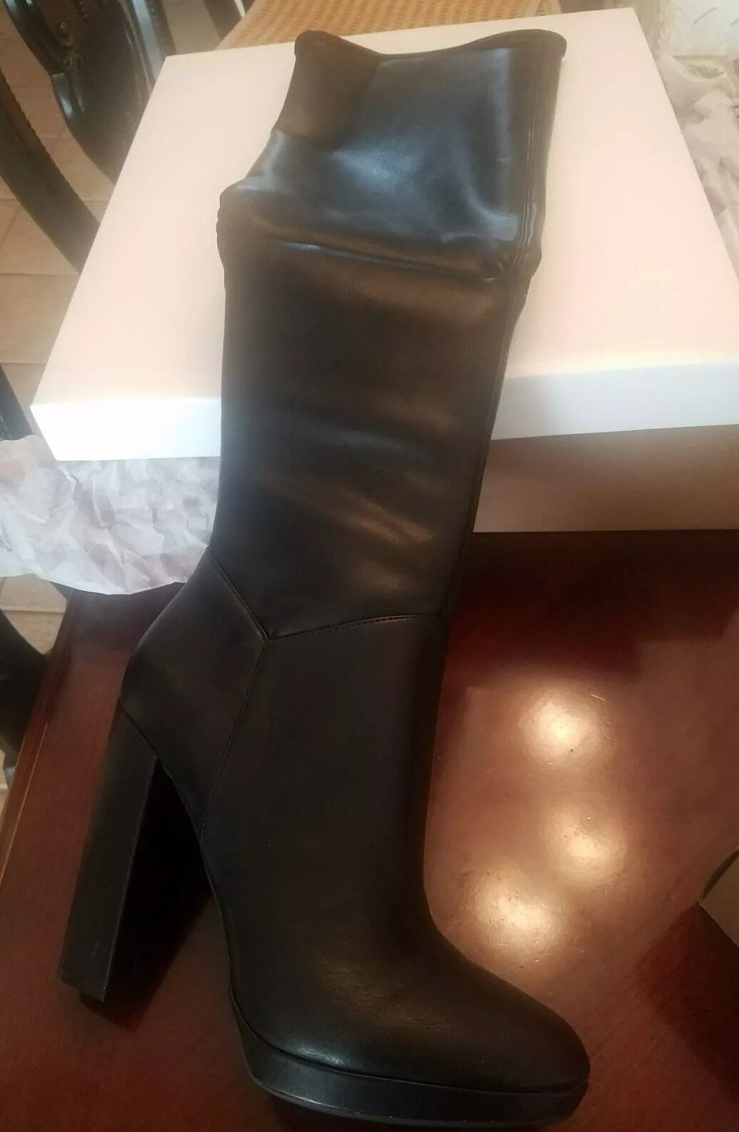 JESSICA SIMPSON GRANDE OVER-THE-KNEE STRENGTH  BOOTS WOMEN'S  size US 8 NWT