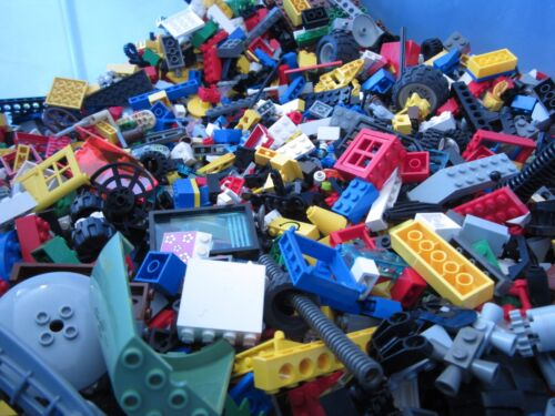 Lego Bulk Mixed Parts Pieces Bricks Specialty 10 pounds LB mixed lot!!