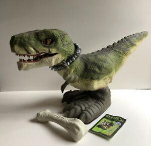 2008-Mattel-Prehistoric-D-REX-T-Rex-Pet-Robot-Robotic-Dinosaur-Predator-Toy