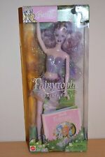 2003 Fairytopia SPARKLE FAIRY Barbie - Purple With Pop-Up Book - Damaged Box