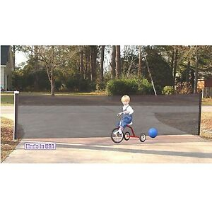 Exceptionnel Image Is Loading Kid Kusion Retractable Driveway Guard 18 Feet Safety