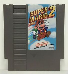 Nintendo-NES-Super-Mario-Bros-2-Authentic-Cleaned-Tested-FREE-SHIPPING