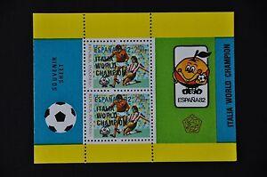 INDONESIA-1982-BL-53-SOCCER-VOETBAL-MNH