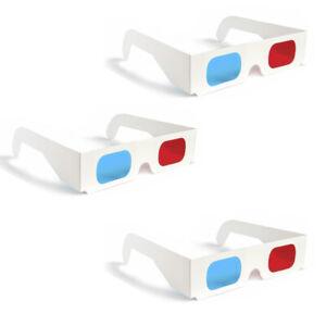 3-Pack-3D-Glasses-Red-Blue-Paper-Cardboard