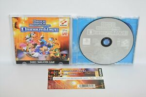 PS1-Dance-Dance-Revolutuon-DISNEYS-RAVE-with-SPINE-Playstation-Japan-Game-p1