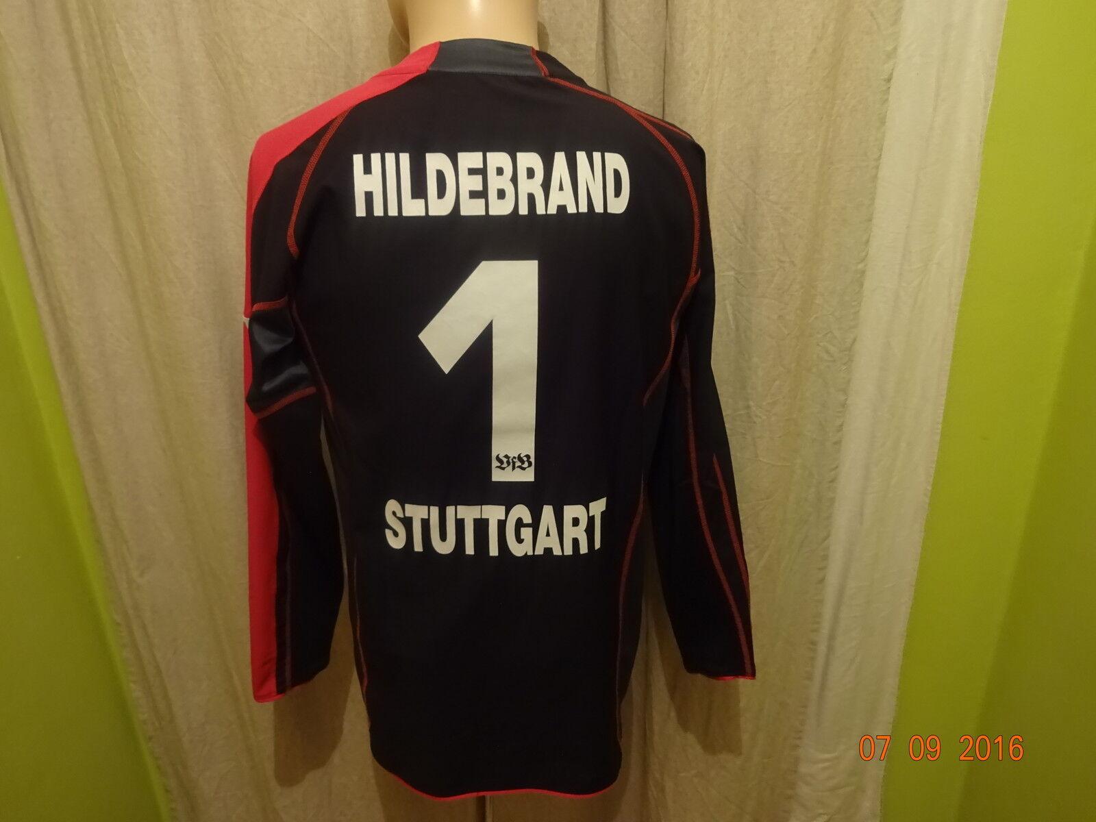 VfB Stuttgart Puma Torwart Trikot 2005 06  EnBW  + Nr.1 Hildebrand Gr.S TOP