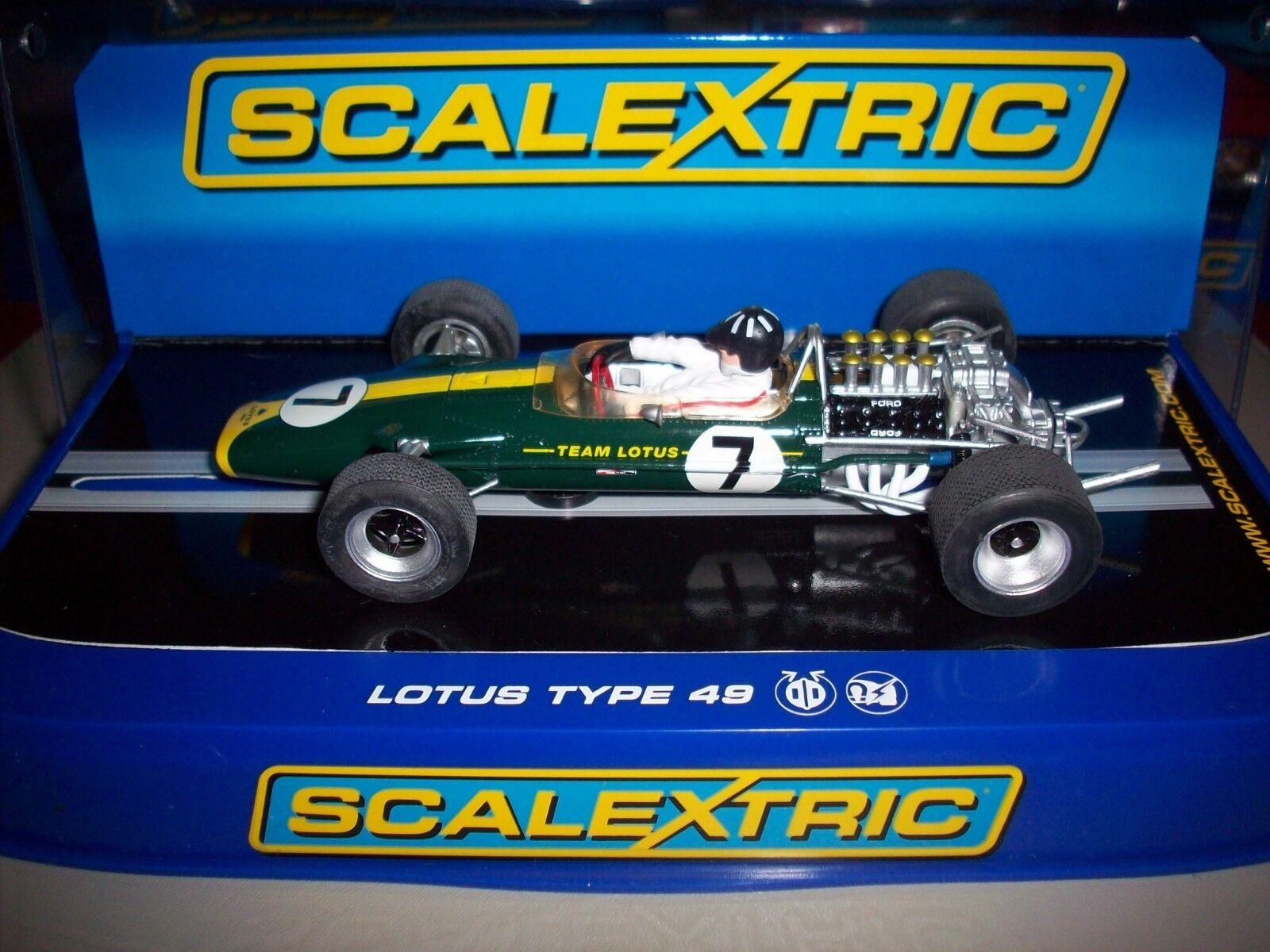 Scalextric Rare C3031 Lotus 49 Graham Hill NMIB