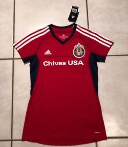 ec097b053cf Rare NWT ADIDAS CLIMACOOL Chivas USA MLS Women's Small Jersey | eBay