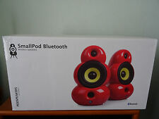 Scandyna Smallpod Active speakers Sealed box, blueroom, B&W