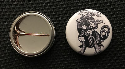 """AD/&D Thessalhydra 1/"""" pin button 1st Edition Dungeons /& Dragons Stanger Things"""