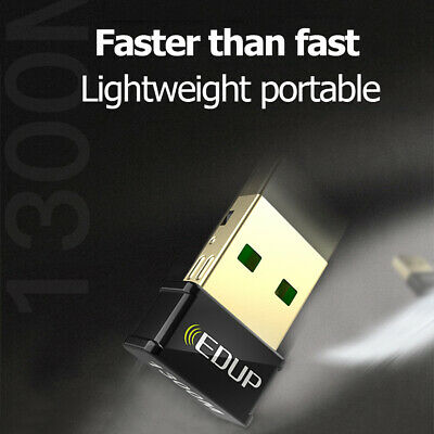 1300Mbps WiFi Wi-FI USB USB2.0 Adapter Dual Band 1300M EDUP 5GHz 2.4G Wireless