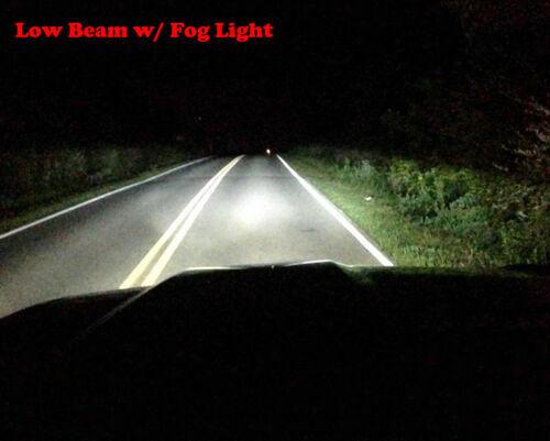 H11 Fog Light For Toyota 4runner 2011-2016 Combo 9005 H11 LED Headlight Hi//Lo