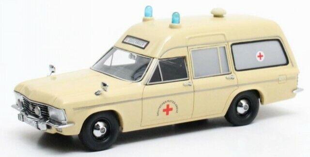 Opel Admiral B SWB Miesen Rettungswagen modellino 11502 Matrix 1 43