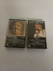 Lot-of-2-KENNY-ROGERS-Cassette-Tapes-Love-Will-Turn-You-Around-amp-Greatest-Hits