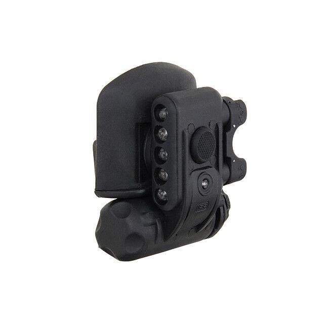 The  Mercenary Company HL1 Military Helmet Mount Light - IR Strobe - IFF Marker  is discounted