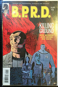BPRD-Killing-Ground-1-VF-1st-Print-Dark-Horse-Comics