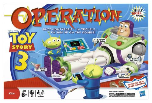 Toy Story 3 Operation Game Replacement Parts /& Pieces 2011 Funatomy Hasbro