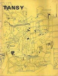 TANSY-NUMBER-1-SPRING-1970-CHARLES-PLYMELL-DOUGLAS-BLAZEK-ED-DORN-DAVID-ANTIN