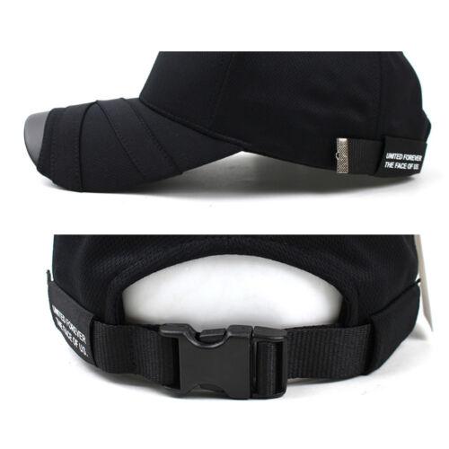 Unisex Mens Teamlife Cool Mesh Casual Baseball Cap Strapback Trucker Hats Black