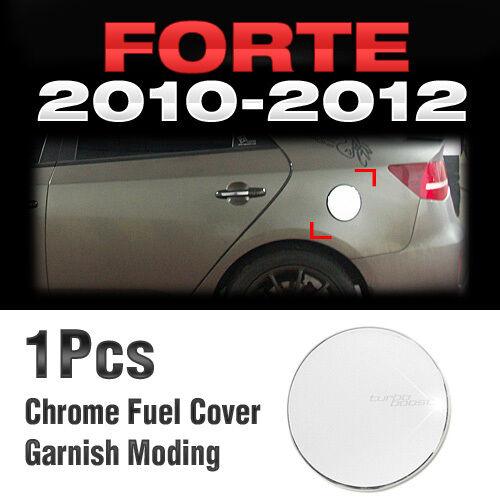 Chrome Fuel Cover Garnish Molding B301 For KIA CERATO FORTE Sedan 2010-2012