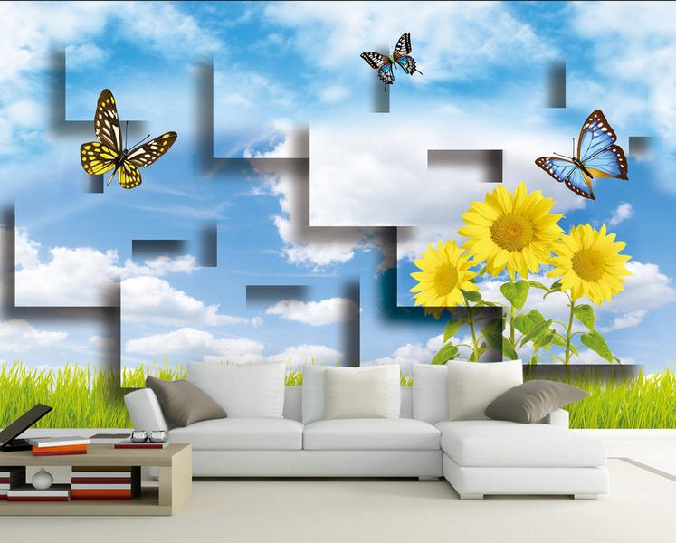 3D Natur Himmel Garten 896  Tapete Wandgemälde Tapete Tapeten Bild Familie DE | Good Design  | Schönes Aussehen  | Ruf zuerst